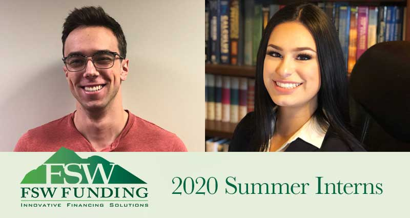 FSW Funding Welcomes Our 2020 Summer Interns!